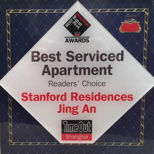 Stanford Residences is selected as the Best Serviced Apartment – Reader's Choice