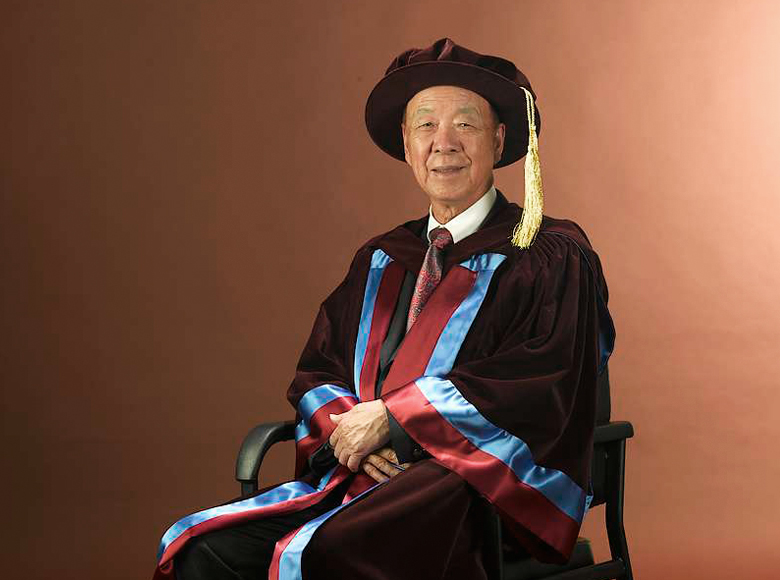 Appointed as Honorary Life Chairman of the Hong Kong Polytechnic University Foundation