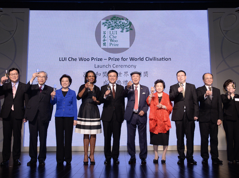 Established Lui Che Woo Prize – Pize for World Civilization to honour individuals or organization with remarkable contributions to the welfare of mandkind