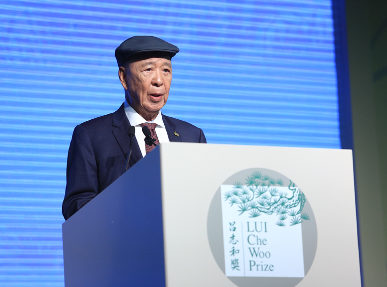 Established LUI Che Woo Prize – Pize for World Civilisation to honour individuals or organization with remarkable contributions to the welfare of mandkind