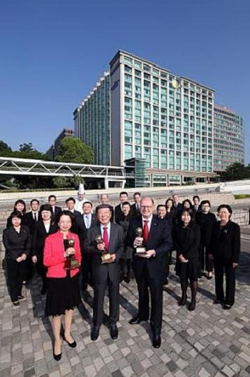 InterContinental Grand Stanford Hong Kong voted World's Leading Luxury Business Hotel