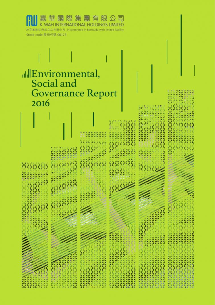 K. Wah International Holdings Limited - Environmental, Social and Governance Report 2016